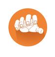 Grabbing hand symbol vector image vector image