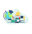people planning for education vector image