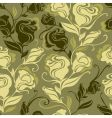 vintage rose pattern vector image
