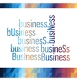 business triangle colorful vector image vector image