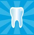 dental health icon vector image