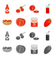 design vegetable and delicious icon vector image vector image