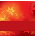 floral background design with copy space vector image vector image