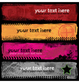 Grungy banners vector | Price: 1 Credit (USD $1)