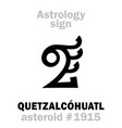 Astrology asteroid quetzalcohuatl