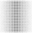 black and white circle pattern - background vector image vector image