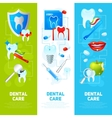 Dental Banner Set vector image vector image
