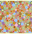 millefiori - seamless pattern vector image vector image