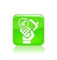 phone repair icon vector image vector image