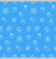 Present seamless pattern background vector image vector image
