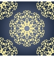 Seamless Yoga pattern Vintage decorative vector image vector image