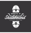 Skateboarding t-shirt design vintage vector image