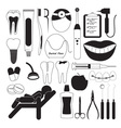 Dental and Teeth Care Icons vector image vector image