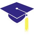 graduation cap eps10 vector image