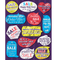 Set of special sale offer labels and banners for c vector image