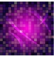 sparkling disco background vector image vector image