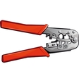 Crimping Tool vector image vector image
