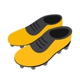 Football soccer shoes isometric 3d icon vector image vector image