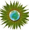 grass and earth vector image vector image