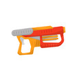 toy gun weapon pistol for kids game vector image