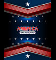 american backgrounds template vector image vector image