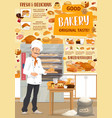 bakery pastry shop and confectionery vector image vector image