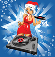 christmas music vector image vector image