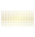 dna spiral golden halftone pattern vector image