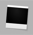 photo frame for internet sharing vector image vector image