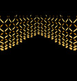serpentine ribbons isolated on background vector image vector image