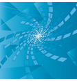 abstract blue background with scroll vector image vector image