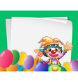Clown Banner vector image
