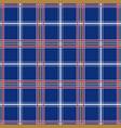 color seamless textile pattern - geometric vintage vector image