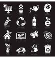 Ecology icons set2 vector image vector image