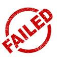 failed vector image