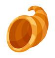 happy thanksgiving horn plenty vector image