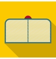 Hockey gate icon flat style vector image vector image