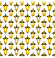 Lantern pattern vector image vector image