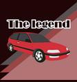 car image design vector image