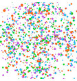 confetti effect vector image vector image