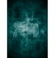 Dark technology design vector image vector image