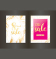 elegant sale and discount promo backgrounds with vector image