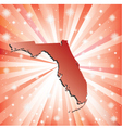 Red Florida vector image
