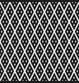 rhombuses seamless pattern vector image vector image