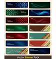 Banner Pack vector image