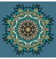 Circle decorative ornament vector image vector image