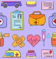 doodle of medical object design cartoon vector image
