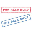 for sale only textile stamps vector image vector image