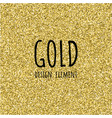 gold glitter texture gold glitter texture design vector image vector image