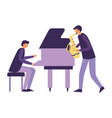 music people instruments vector image vector image
